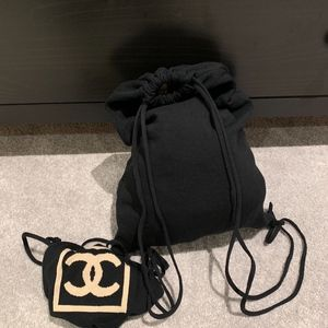 CHANEL Bags - Vintage Chanel Sport Line Backpack PLUS Pouch